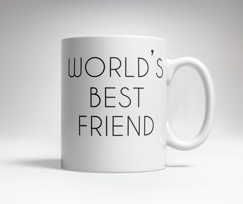 World's Best/Worst Friend Prank Mug