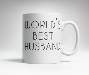 World's Best/Worst Husband Prank Mug