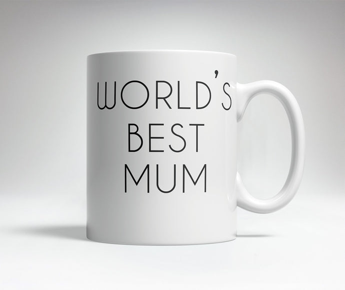 World's Best/Worst Mum Prank Mug