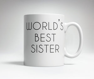 World's Best/Worst Sister Prank Mug