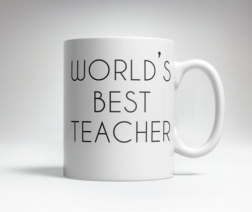 World's Best/Worst Teacher Prank Mug