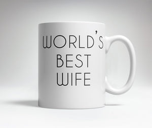 World's Best/Worst Wife Prank Mug