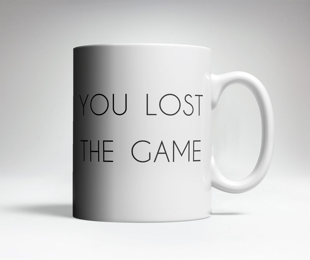 You Lost The Game Trick Mug Trick Mugs