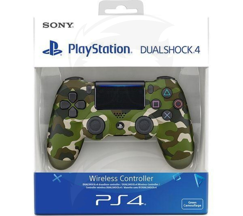 PS4 controller dualshock 4 Green Camo - PlayStation 4