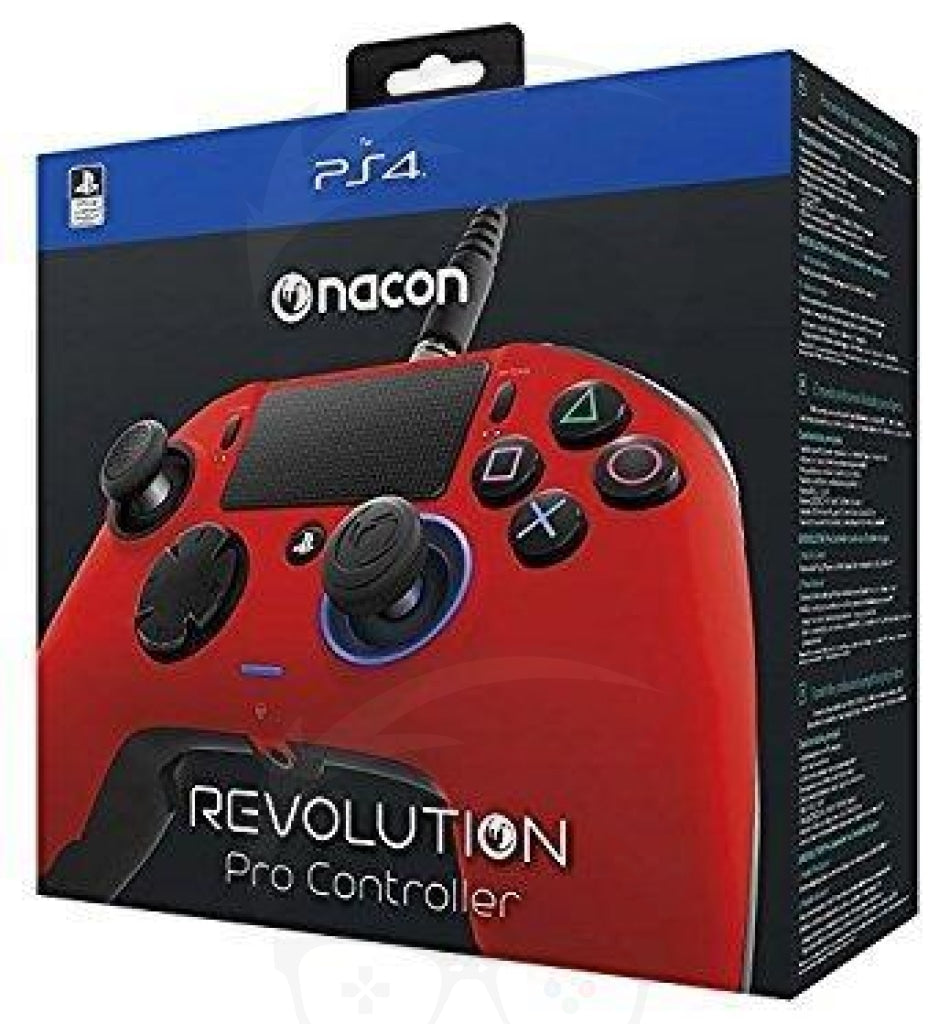 PS4 controller nacon Red Color - PlayStation 4