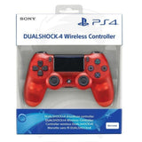 PS4 controller dualshock 4 Red color crystal - PlayStation 4