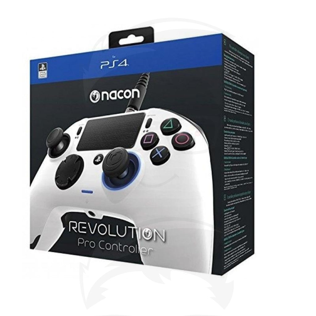 PS4 controller nacon White Color - PlayStation 4