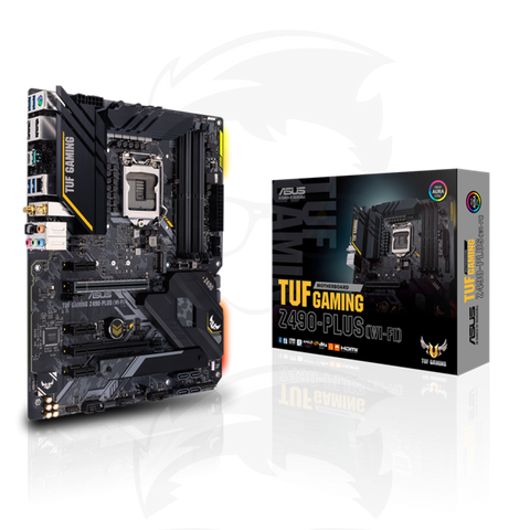 ASUS TUF GAMING Z490-PLUS (WiFi 6) MOTHERBOARD