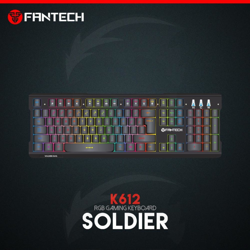 FANTECH K612 Soldier RGB Gaming Keyboard