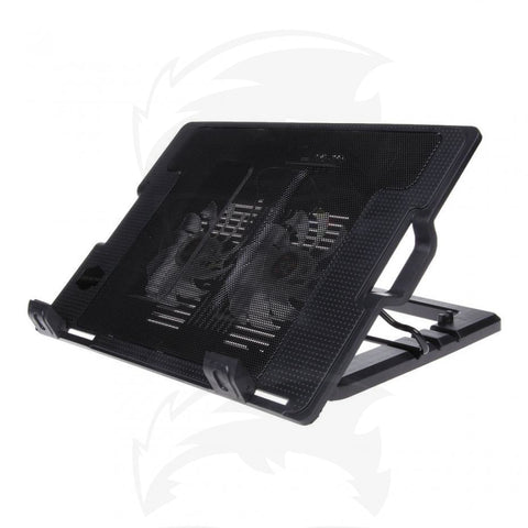 "HAING N18 17 "" 1-Fan Notebook/Laptop Cooling Partner - Black"