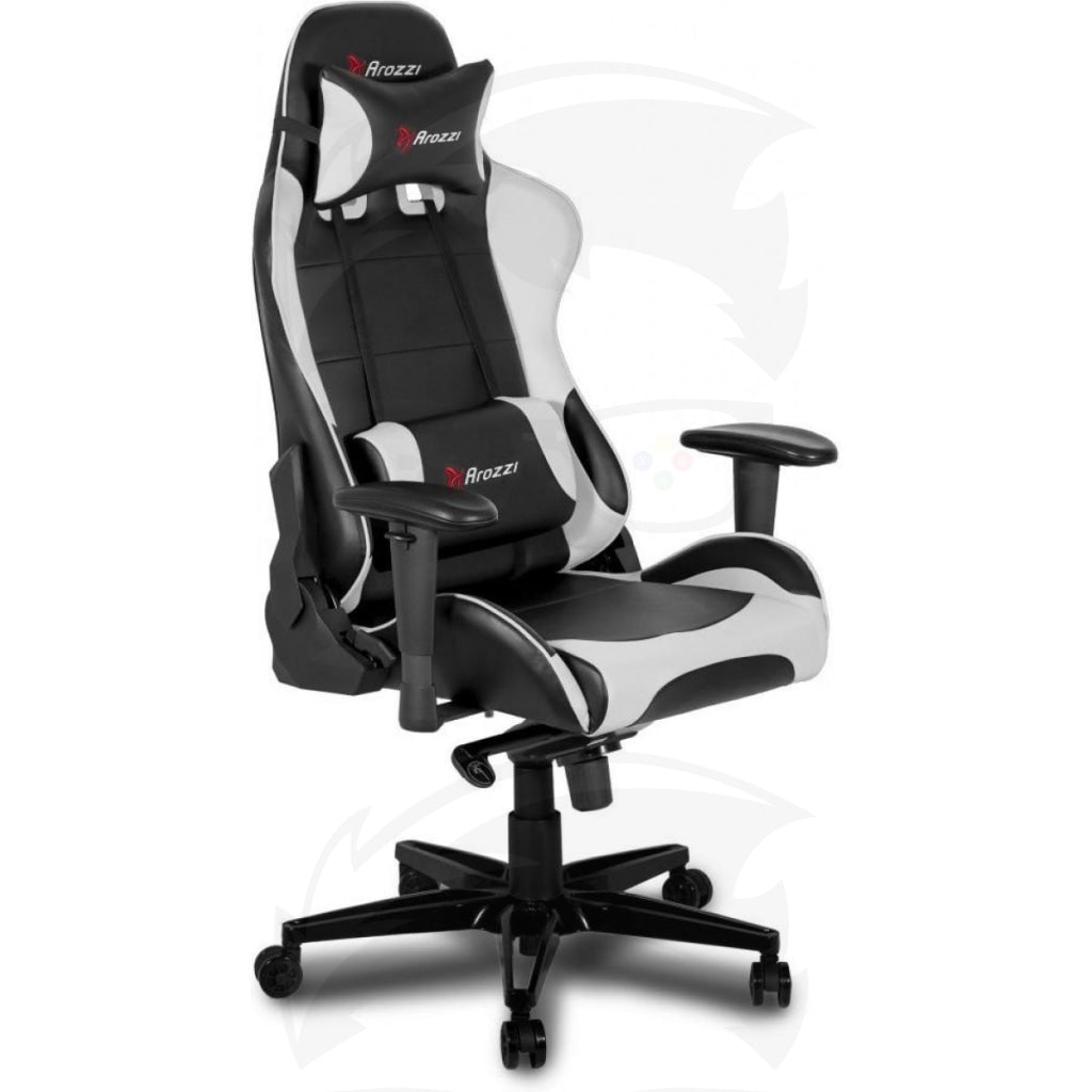 Arozzi Verona XL+ Ultimate Heavy-Duty Gaming Chair - White