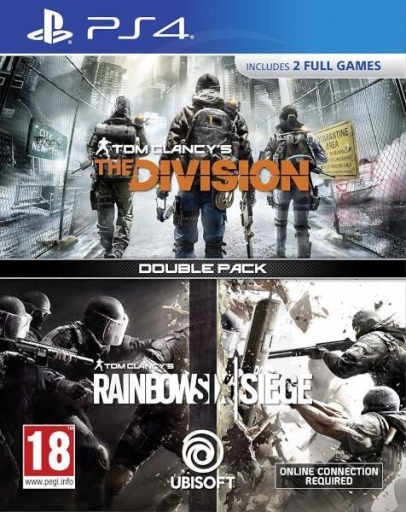 Tom Clancy's Rainbow Six Siege + The Division Double pack - PlayStation 4