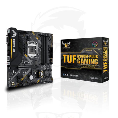 ASUS TUF B360M-PLUS GAMING MOTHERBOARD