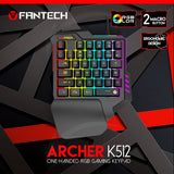 FANTECH K512 Archer One-Handed RGB Gaming keyboard