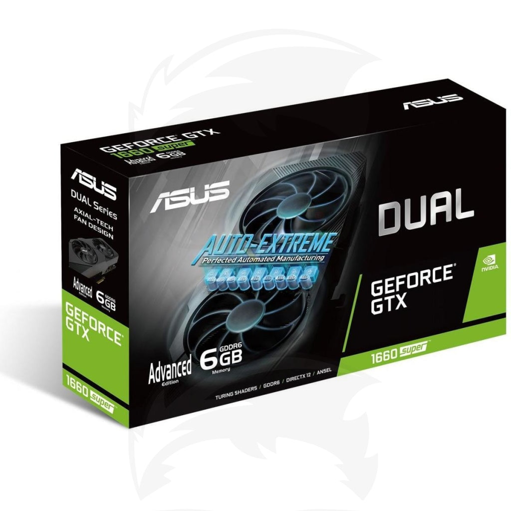 ASUS NVIDIA GTX 1660 SUPER 6GB DUAL EVO Advanced