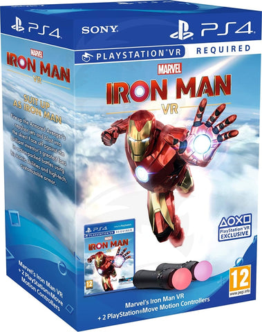 Iron Man VR PlayStation Move Controller Bundle