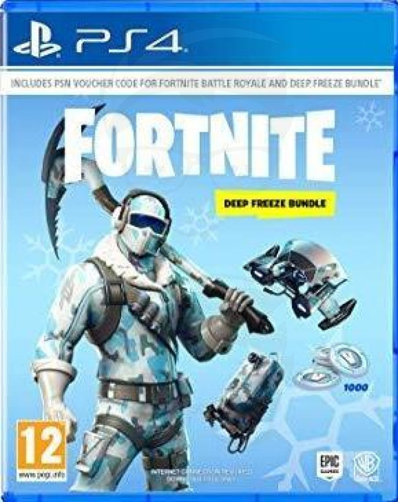 fortnite deep freeze - Playstation 4