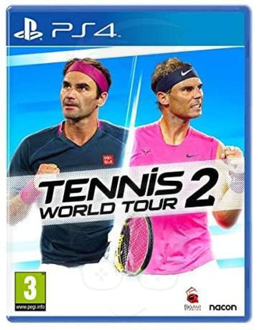 TENNIS WORLD TOUR 2 PEGI (PS4)