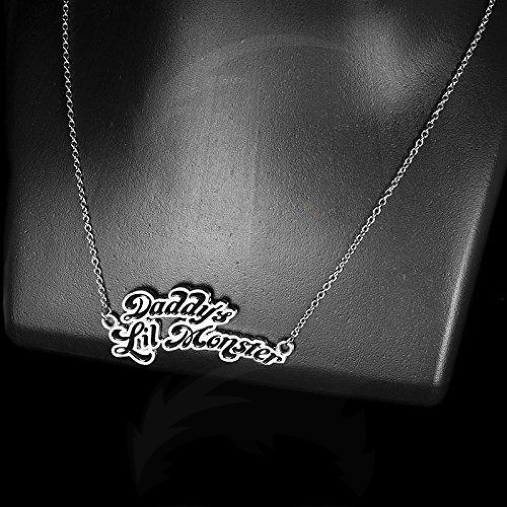 Sucide Squad Daddy's Lil Monster Necklace