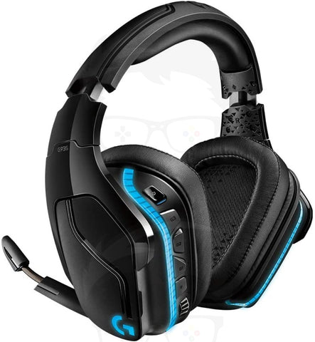 Logitech G935 Wireless DTS:X 7.1 Surround Sound LIGHTSYNC RGB PC Gaming Headset - Black, blue