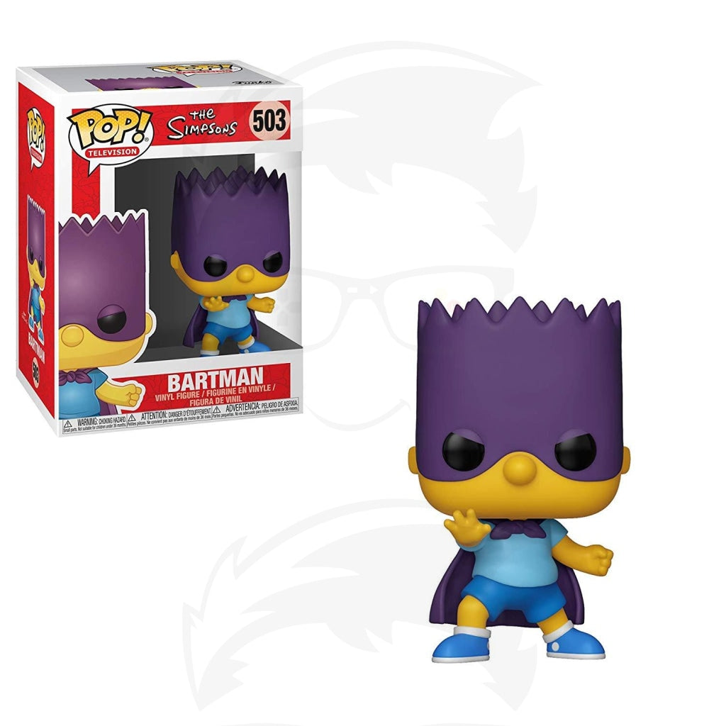 POP! Animation: Simpsons S2-Bart-Bartman
