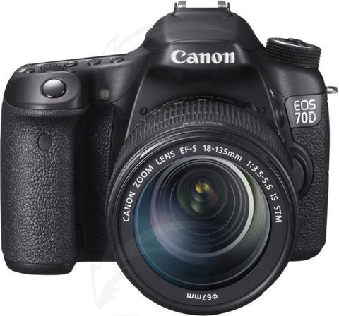 Canon EOS 70D Kit 18-135 Camera