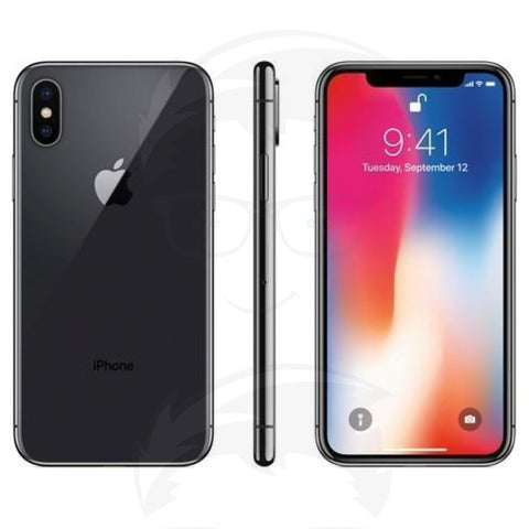 iPhone X 256GB - Black