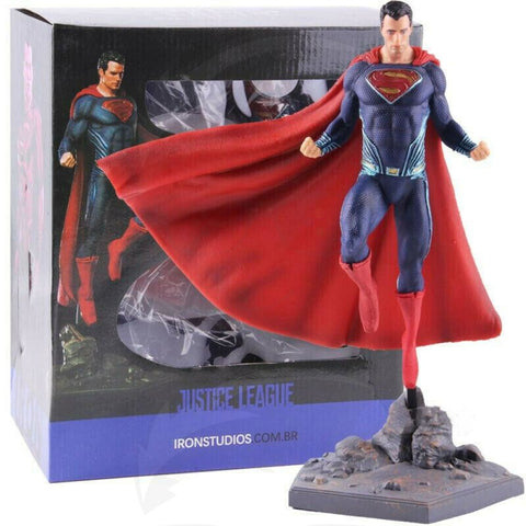 Details about  Iron Studios Justice League Superman PVC Figure Collectible Model Toy