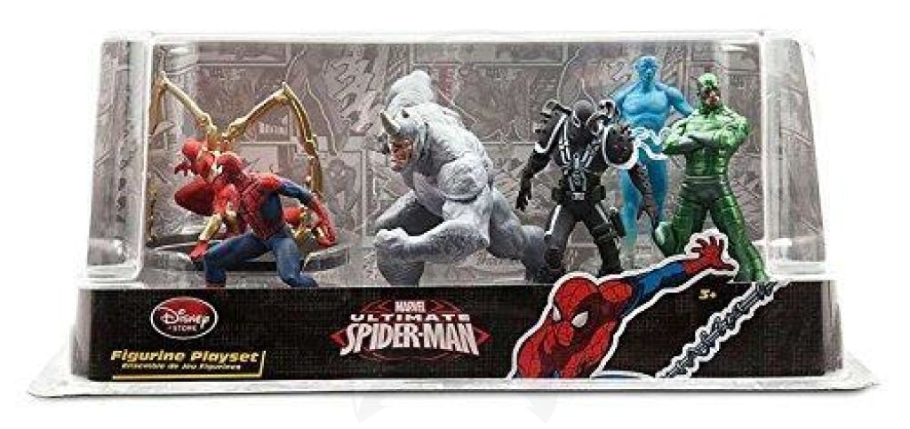 Figurine playset ultimate spider man