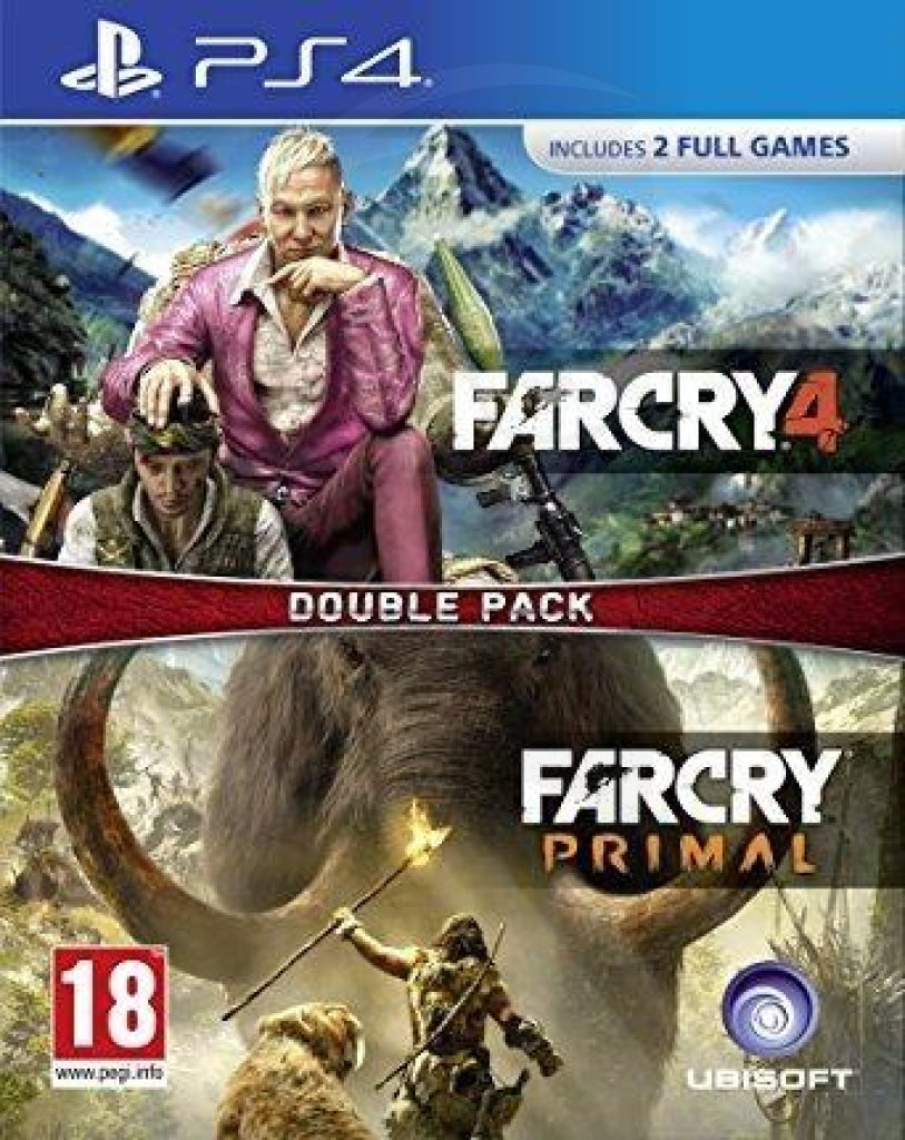 far cry double pack - PlayStation 4