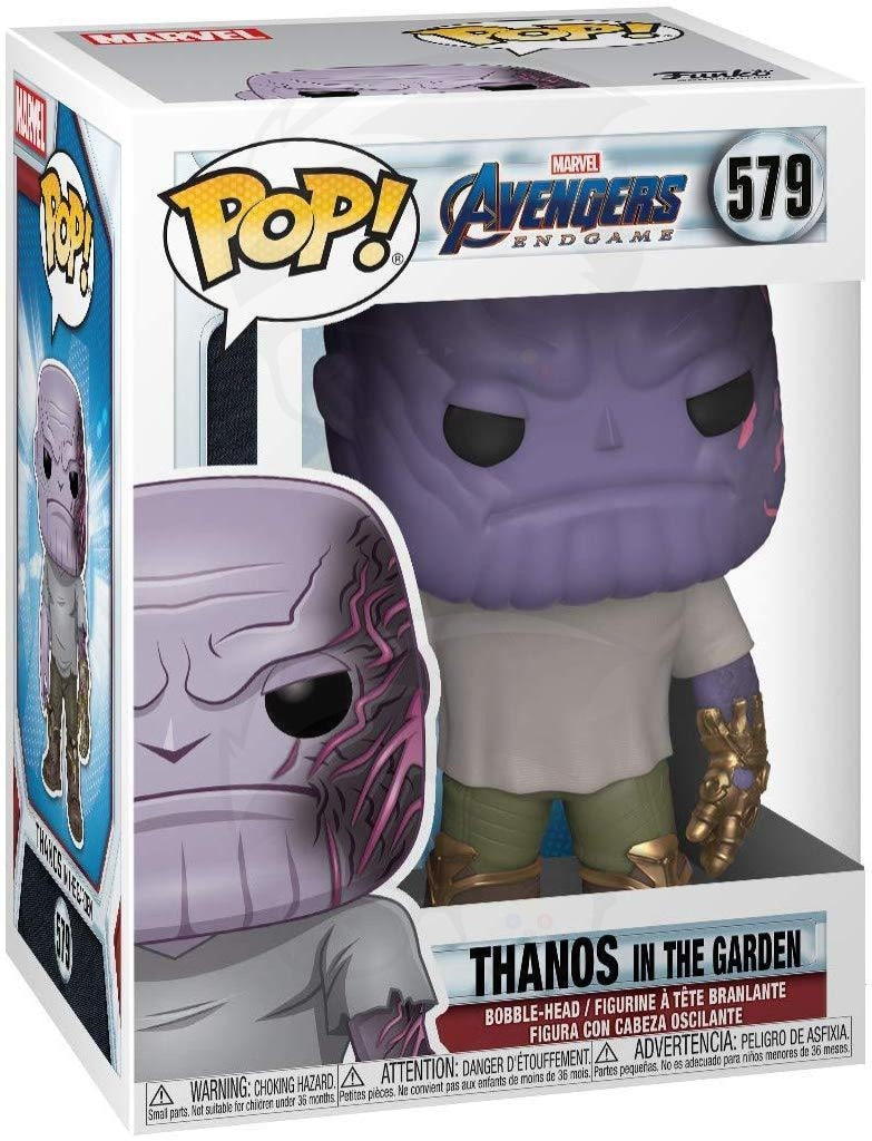 Pop! Marvel: Holiday - Casual Thanos w/Gauntlet