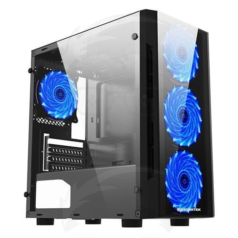 Xigmatek Scorpio II Blue GAMING CASE
