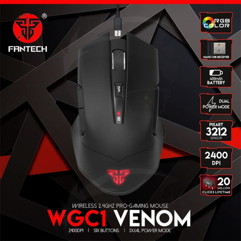FANTECH VX7 CRYPTO GAMING MOUSE