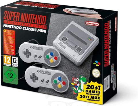Nintendo Classic Mini: Super Nintendo Entertainment System (Europe)
