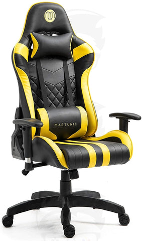 MARTUNIS Gaming Chair(Yellow & Black)