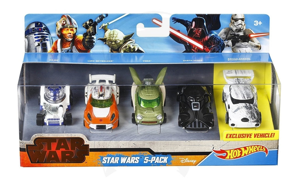 Star wars hot wheels cars