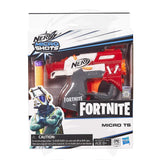 NERF Fortnite Ts Microshots Dart-Firing Toy Blaster & 2 Official Elite Darts