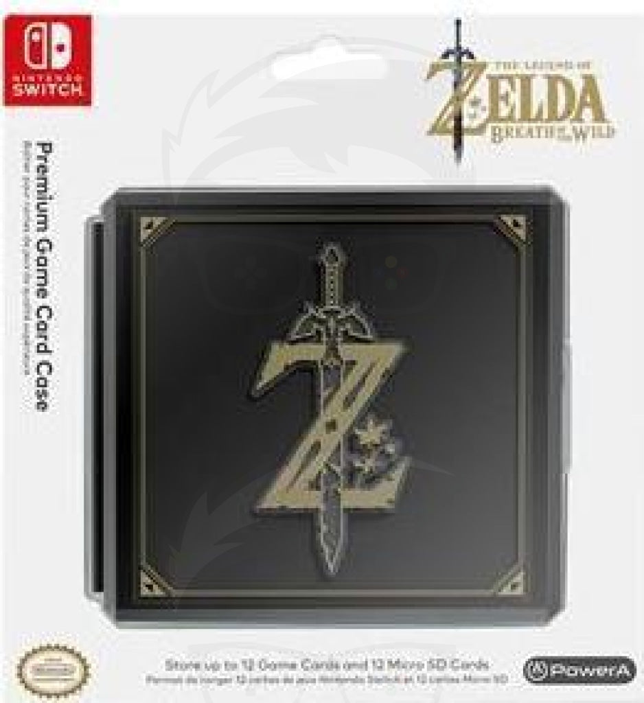 Premium Game Card Case - Zelda: Breath of the Wild - Switch