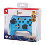 Wired Controller Chrome Zelda - Switch