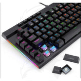 Redragon BroadSword K588 RGB TKL Mechanical Gaming Keyboard