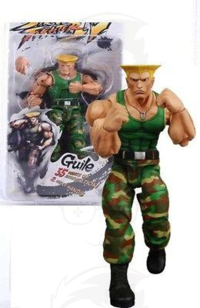 STREET FIGHTER Neca Guily Figures