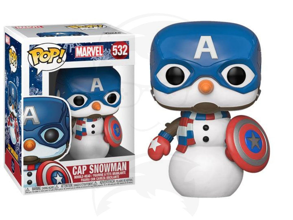 POP! Marvel: Holiday Captain America