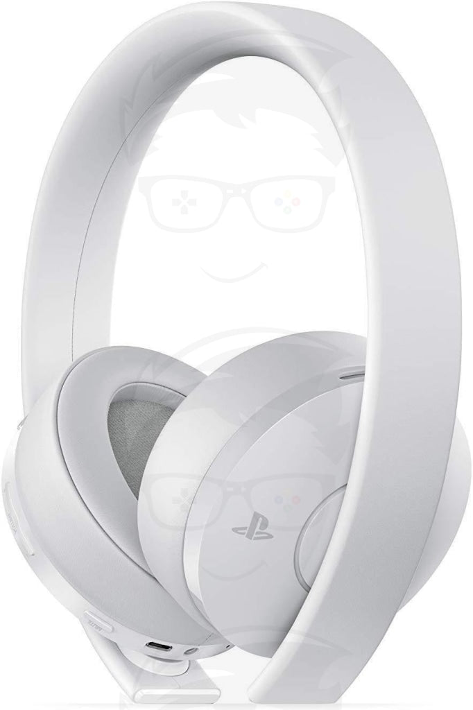 PlayStation Gold Wireless Headset White - PlayStation 4