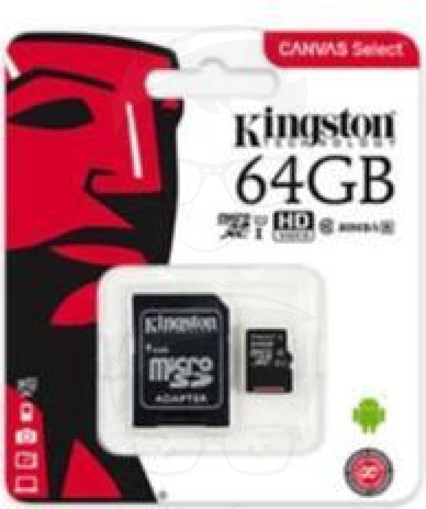 Micro SD kingston 64gb class 10