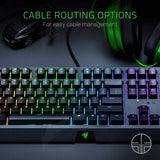 Razer Blackwidow Mechanical Gaming Keyboard, with Razer Green Switches (Clicky and Tactile), RGB Chroma Enabled, US Layout