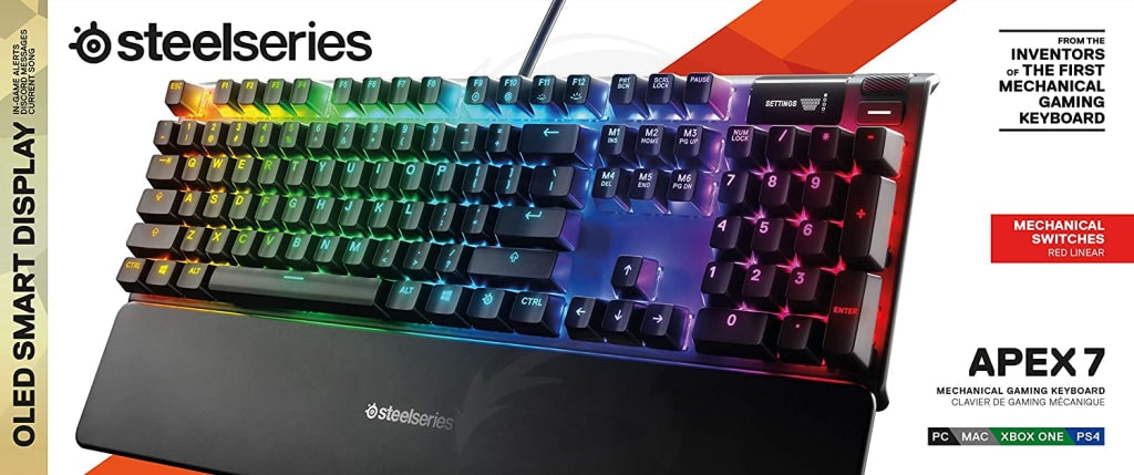 SteelSeries APEX 7 (red switch) Mechanical Gaming Keyboard