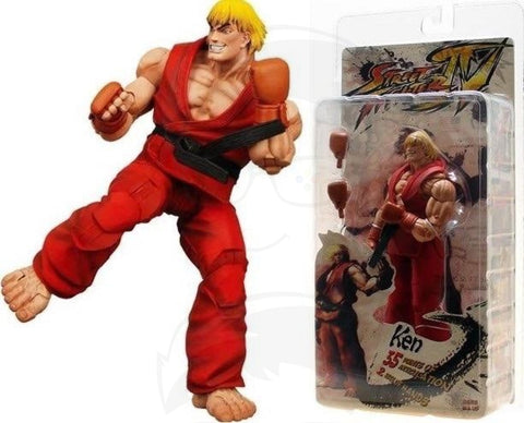 STREET FIGHTER Neca Ken Figures