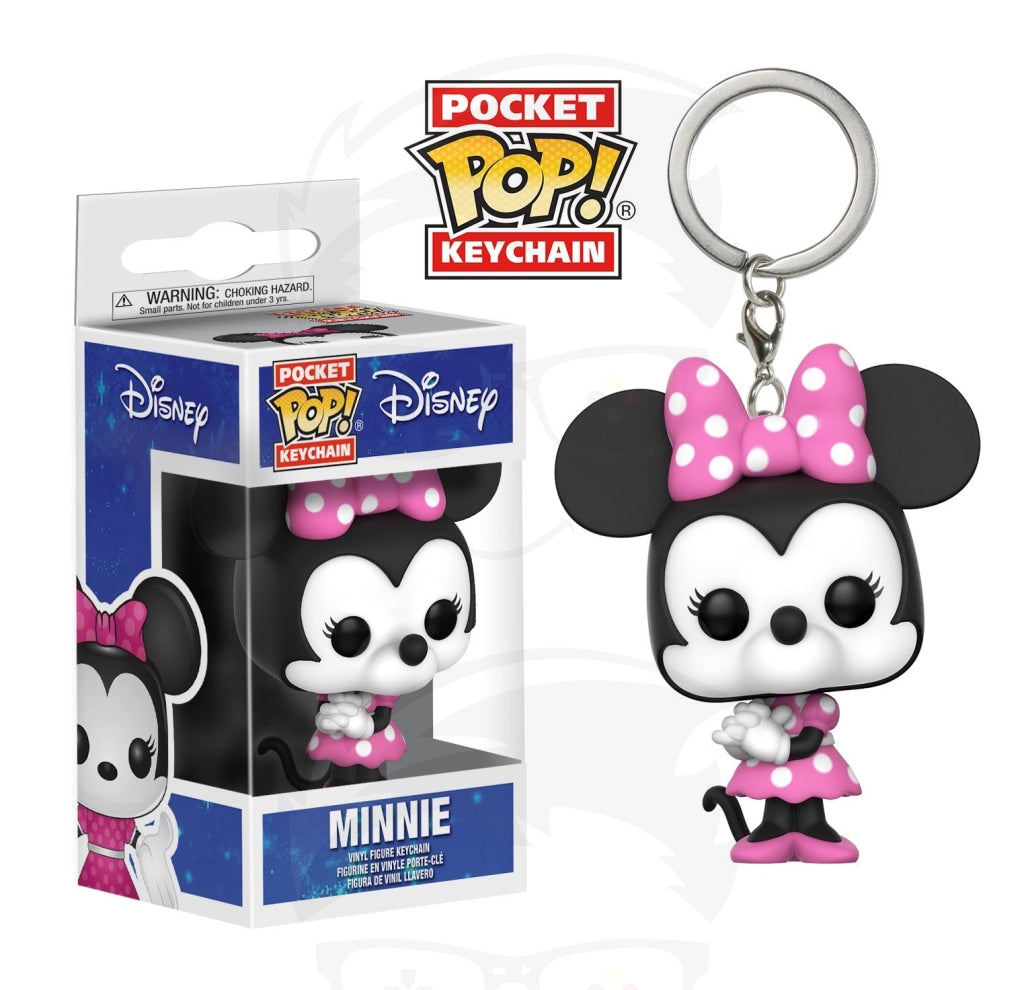 Pocket POP! Keychain : Desney - Minnie mouse