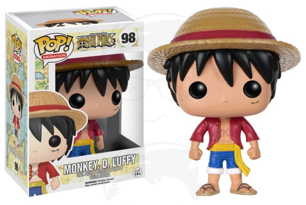 Pop! Animation: One Piece - Monkey D. Luffy