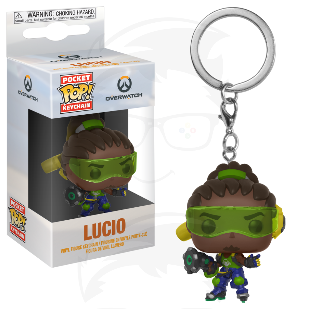 Pocket POP! Keychain : Overwatch - Lucio